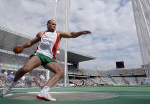 Fazekas Róbert 2010-ben, egy barcelonai versenyen Fotó: SITA/AP - illusztráció