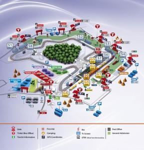 Hungaroring 3D térkép