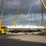 Heathrow reptéren felépített új olimpiai reptéri terminál