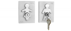 His & Hers kulcstartók