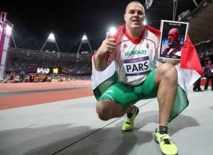 Pars Krisztian olimpiai aranyérmes