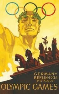 Az 1936-os berlini olimpia hivatalos plakátja