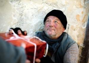 Hajléktalanok karácsonya